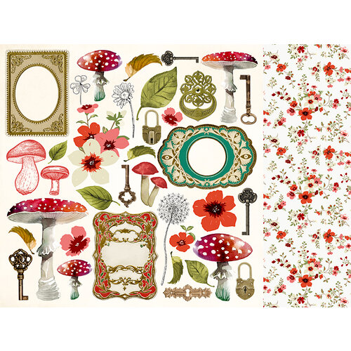 Kaisercraft - Enchanted Collection - 12 x 12 Double Sided Paper - Utopia
