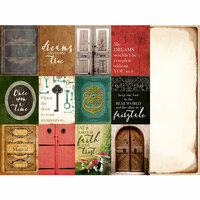 Kaisercraft - Enchanted Collection - 12 x 12 Double Sided Paper - Wonder