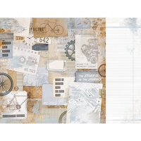 Kaisercraft - Workshop Collection - 12 x 12 Double Sided Paper - Tough