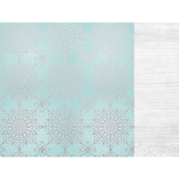 Kaisercraft - Christmas - Let It Snow Collection - 12 x 12 Double Sided Paper With Foil Accents - Delightful