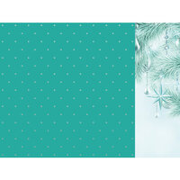 Kaisercraft - Christmas - Let It Snow Collection - 12 x 12 Double Sided Paper With Foil Accents - Twinkle Star