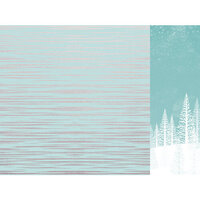 Kaisercraft - Christmas - Let It Snow Collection - 12 x 12 Double Sided Paper With Foil Accents - Snowfall