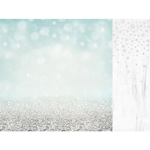 Kaisercraft - Christmas - Let It Snow Collection - 12 x 12 Double Sided Paper With Foil Accents - Shimmering