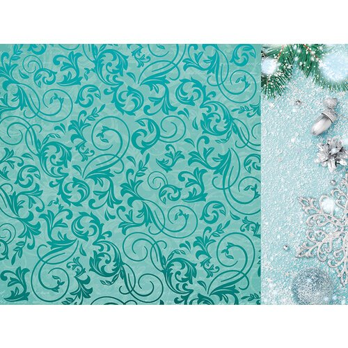 Kaisercraft - Christmas - Let It Snow Collection - 12 x 12 Double Sided Paper With Foil Accents - Wonderland