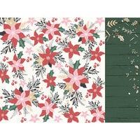 Kaisercraft - Christmas - Peppermint Kisses Collection - 12 x 12 Double Sided Paper - Fun and Festive