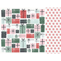 Kaisercraft - Christmas - Peppermint Kisses Collection - 12 x 12 Double Sided Paper - Wrapped Up
