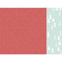 Kaisercraft - Christmas - Peppermint Kisses Collection - 12 x 12 Double Sided Paper - Holly Jolly