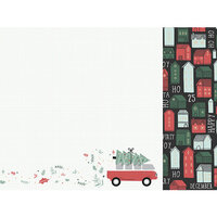Kaisercraft - Christmas - Peppermint Kisses Collection - 12 x 12 Double Sided Paper - Combi Christmas