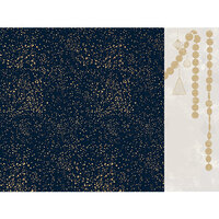 Kaisercraft - Christmas - Starry Night Collection - 12 x 12 Double Sided Paper With Foil Accents - Magic