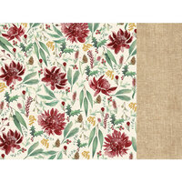 Kaisercraft - Christmas - Under The Gum Leaves Collection - 12 x 12 Double Sided Paper - Protea