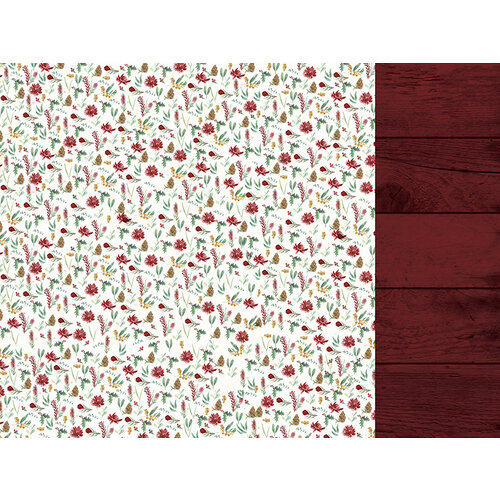 Kaisercraft - Christmas - Under The Gum Leaves Collection - 12 x 12 Double Sided Paper - Wild Flora