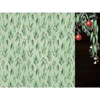 Kaisercraft - Christmas - Under The Gum Leaves Collection - 12 x 12 Double Sided Paper - Gum Leaves