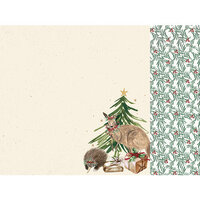 Kaisercraft - Christmas - Under The Gum Leaves Collection - 12 x 12 Double Sided Paper - Native Tree