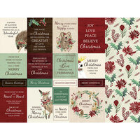 Kaisercraft - Christmas - Under The Gum Leaves Collection - 12 x 12 Double Sided Paper - Home for Christmas