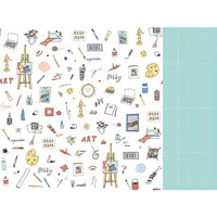 Kaisercraft - Crafternoon Collection - 12 x 12 Double Sided Paper - Handmade