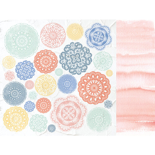 Kaisercraft - Crafternoon Collection - 12 x 12 Double Sided Paper - Crochet