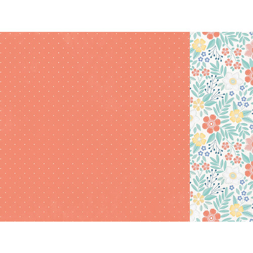 Kaisercraft - Crafternoon Collection - 12 x 12 Double Sided Paper - Back Stitch