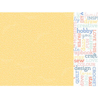 Kaisercraft - Crafternoon Collection - 12 x 12 Double Sided Paper - Crafty