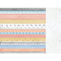 Kaisercraft - Crafternoon Collection - 12 x 12 Double Sided Paper - Measured