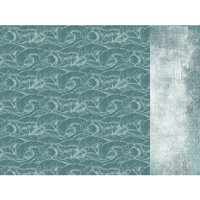 Kaisercraft - Uncharted Waters Collection - 12 x 12 Double Sided Paper - Pelagic