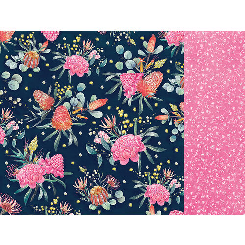 Kaisercraft - Native Breeze Collection - 12 x 12 Double Sided Paper - Banksia Bouquet