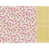 Kaisercraft - Native Breeze Collection - 12 x 12 Double Sided Paper - Pink Protea