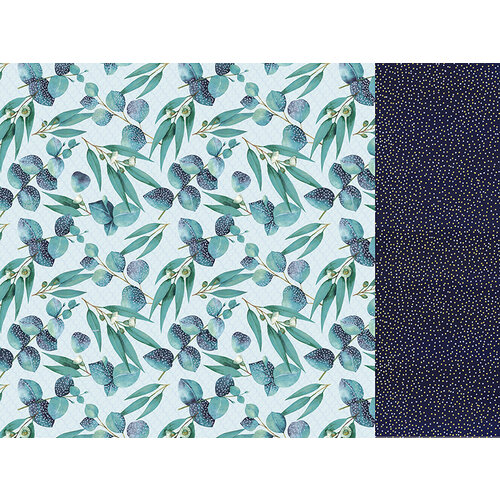 Kaisercraft - Native Breeze Collection - 12 x 12 Double Sided Paper - Gum Leaves
