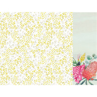 Kaisercraft - Native Breeze Collection - 12 x 12 Double Sided Paper - Wattle Flower