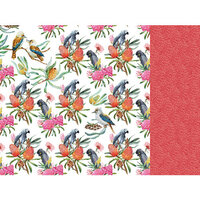 Kaisercraft - Native Breeze Collection - 12 x 12 Double Sided Paper - Native Flock