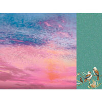 Kaisercraft - Native Breeze Collection - 12 x 12 Double Sided Paper - Sundown