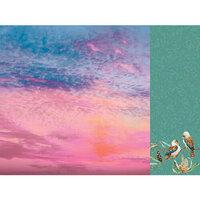 Kaisercraft - Native Breeze Collection - 12 x 12 Double Sided Paper - Sundown