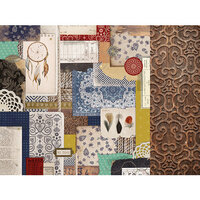 Kaisercraft - Grand Bazaar Collection - 12 x 12 Double Sided Paper - Collective