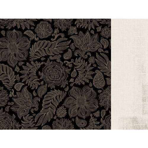 Kaisercraft - Grand Bazaar Collection - 12 x 12 Double Sided Paper - Boho Paisley