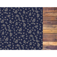 Kaisercraft - Grand Bazaar Collection - 12 x 12 Double Sided Paper - Textiles
