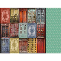 Kaisercraft - Grand Bazaar Collection - 12 x 12 Double Sided Paper - Doorway