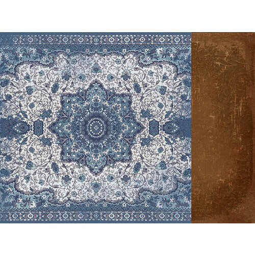 Kaisercraft - Grand Bazaar Collection - 12 x 12 Double Sided Paper - Persian Rug