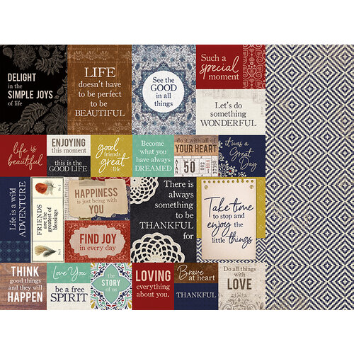 Kaisercraft - Grand Bazaar Collection - 12 x 12 Double Sided Paper - Free Spirited