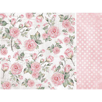 Kaisercraft - Lady Like Collection - 12 x 12 Double Sided Paper - Rose