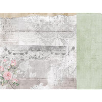 Kaisercraft - Lady Like Collection - 12 x 12 Double Sided Paper - Elsie