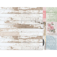 Kaisercraft - Lady Like Collection - 12 x 12 Double Sided Paper - Evelyn