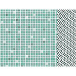 Kaisercraft - Lily and Moss Collection - 12 x 12 Double Sided Paper - Tiles