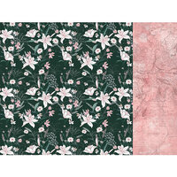 Kaisercraft - Lily and Moss Collection - 12 x 12 Double Sided Paper - Flora