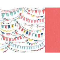 Kaisercraft - Oh Happy Day Collection - 12 x 12 Double Sided Paper - Garlands