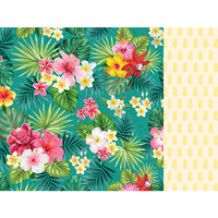 Kaisercraft - Sunkissed Collection - 12 x 12 Double Sided Paper - Pina Colada