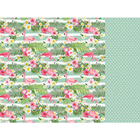 Kaisercraft - Sunkissed Collection - 12 x 12 Double Sided Paper - Mojito