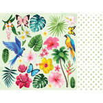 Kaisercraft - Sunkissed Collection - 12 x 12 Double Sided Paper - Tutti Frutti