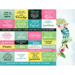 Kaisercraft - Sunkissed Collection - 12 x 12 Double Sided Paper - Martini