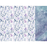 Kaisercraft - Amethyst Collection - 12 x 12 Double Sided Paper - Gem