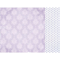 Kaisercraft - Amethyst Collection - 12 x 12 Double Sided Paper - Moonstone