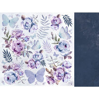 Kaisercraft - Amethyst Collection - 12 x 12 Double Sided Paper - Full Moon